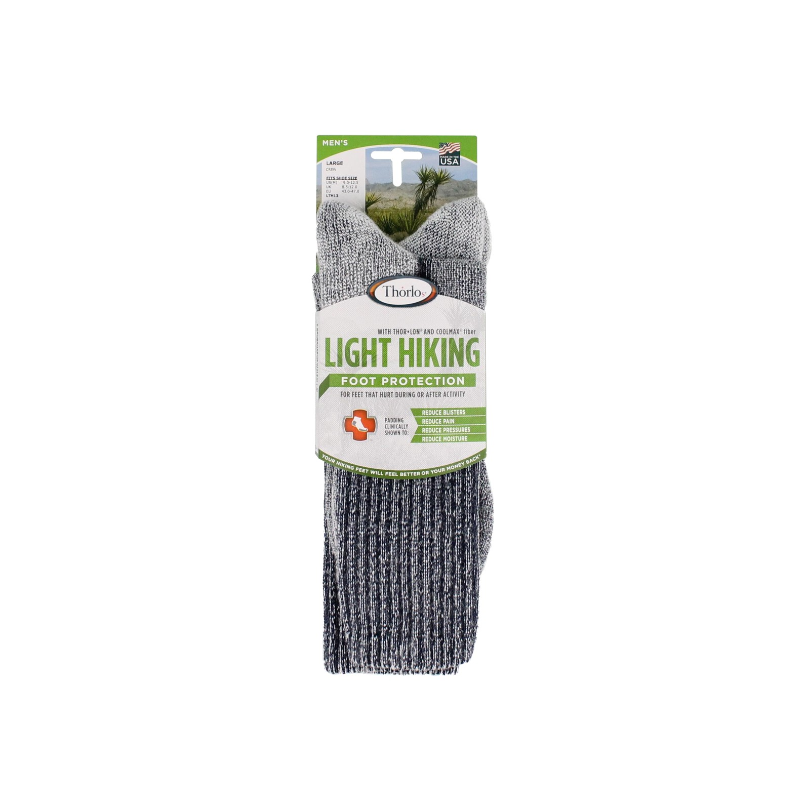 Men's Thorlo, LTH Light Hiking Socks - Large - 1 Pack