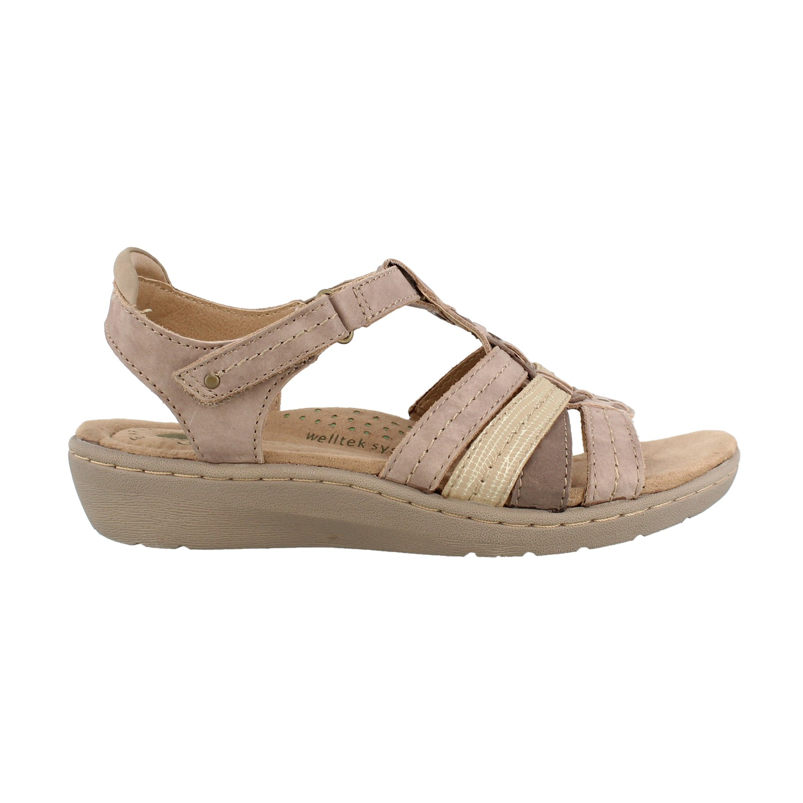 Women's Earth Origins, Amelie Low Heel Sandals