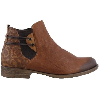 Women's REMONTE, D4976 LEATHER ANKLE BOOTS