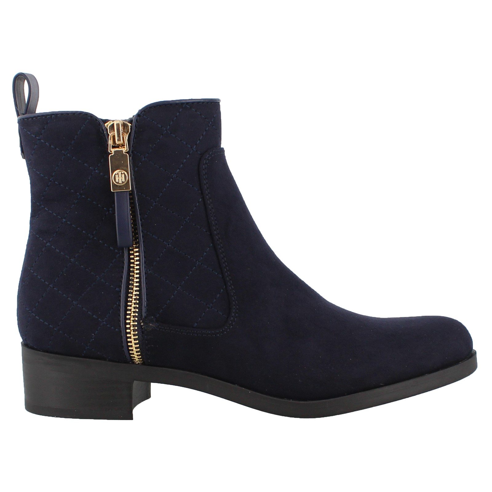 Details zu Navy Suede Tommy Hilfiger Ankle Boots