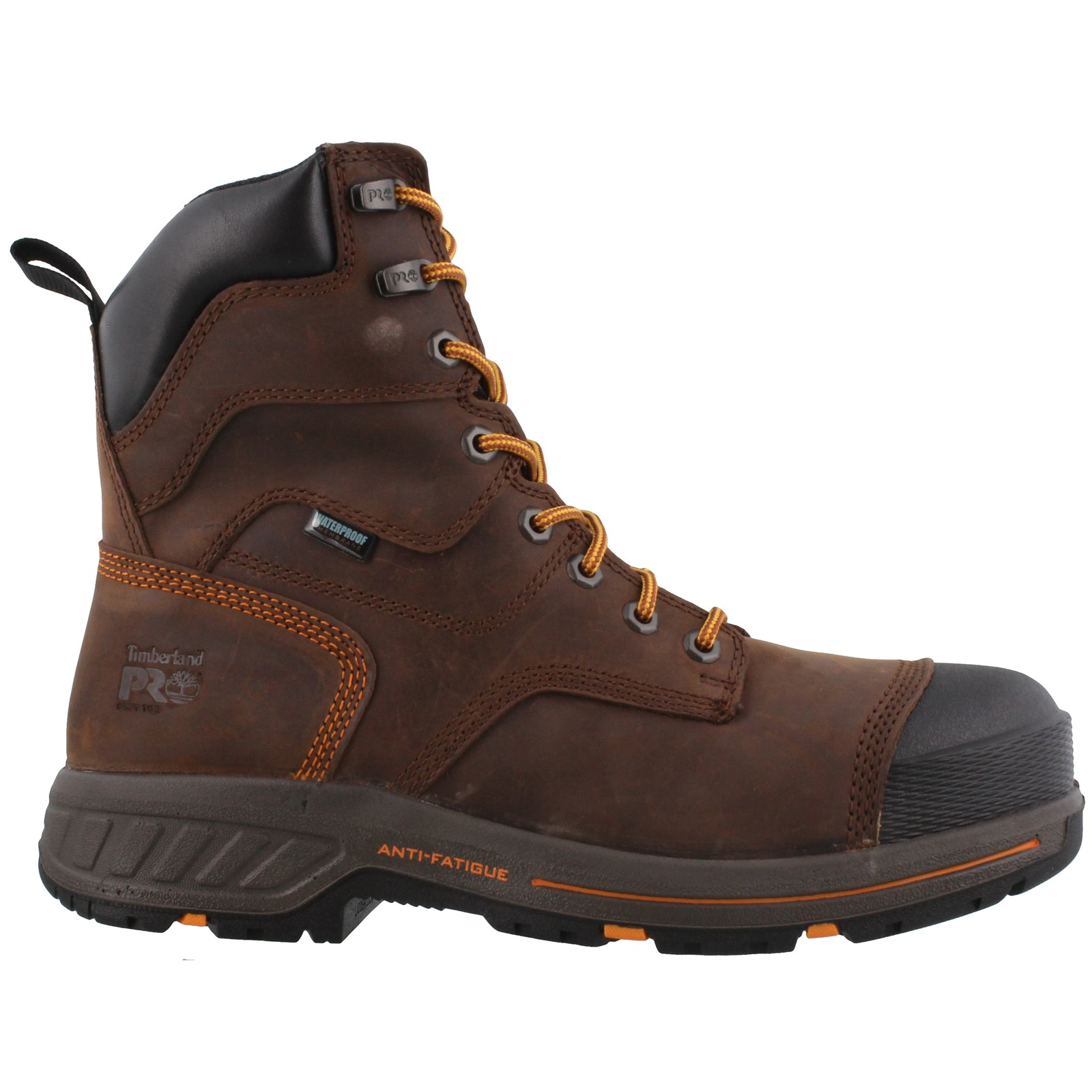 Men's TIMBERLAND PRO, HELIX HD 8 INCH WORK BOOTS