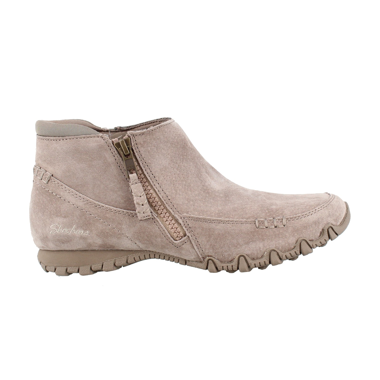 feinste Auswahl Original kaufen Dauerhafter Service Women's SKECHERS WOMENS USA, BIKERS ZIPPIEST ANKLE BOOTIES