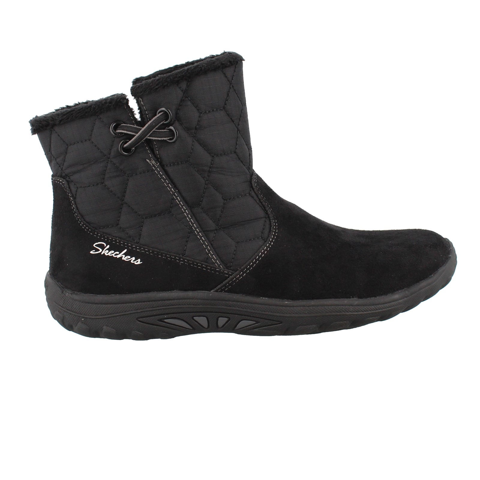 skechers quilted boots