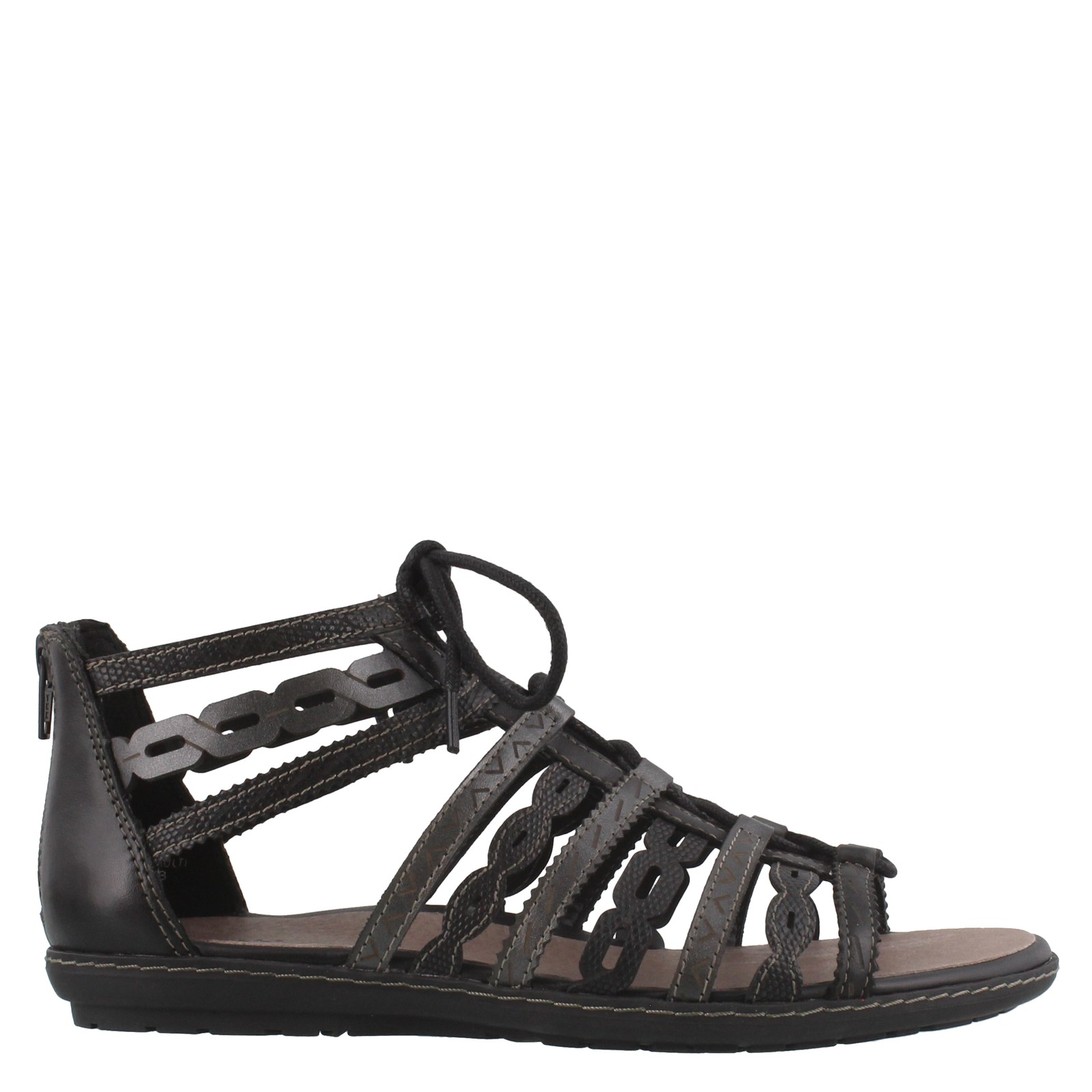 Women's EARTH, TIDAL STRAPPY LOW HEEL SANDALS
