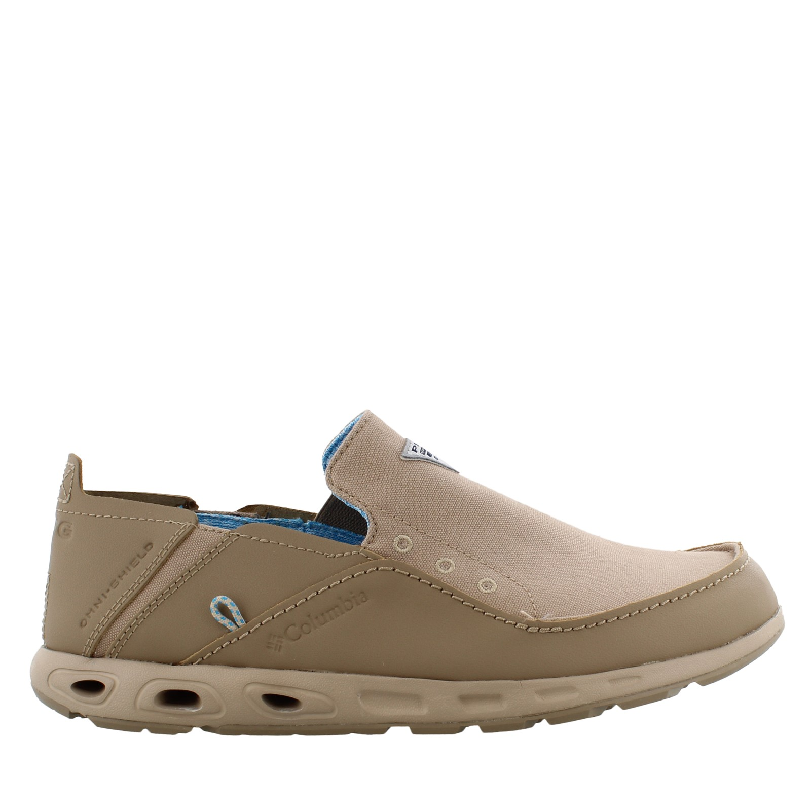 Men's Columbia, Bahama Vent PFG Slip on Boat Shoe