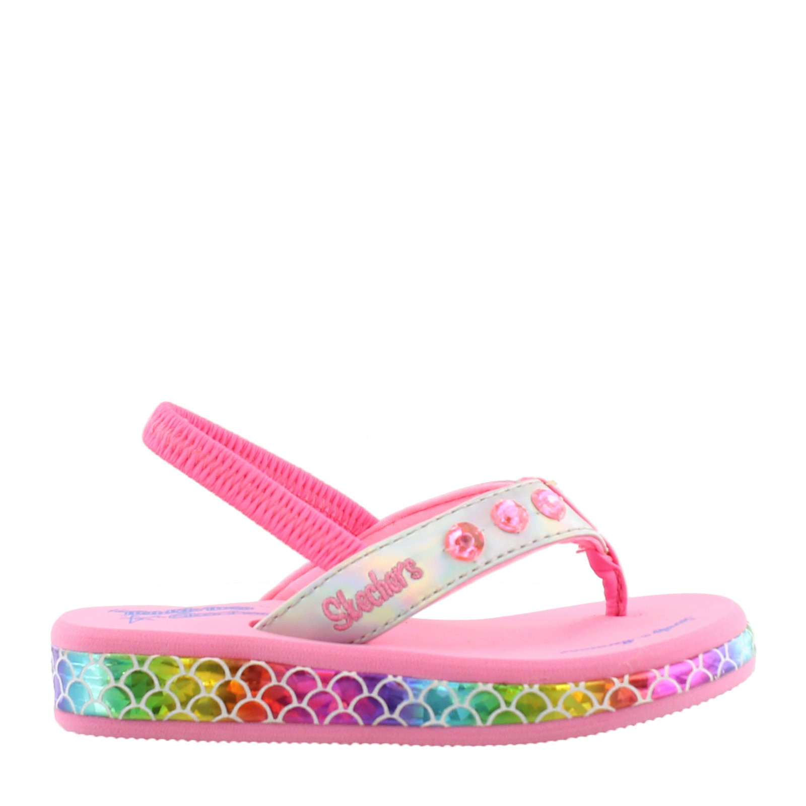 Girl's Skechers, Twinkle Toes: Sunshines Mermaid Dreams Sandal Toddler