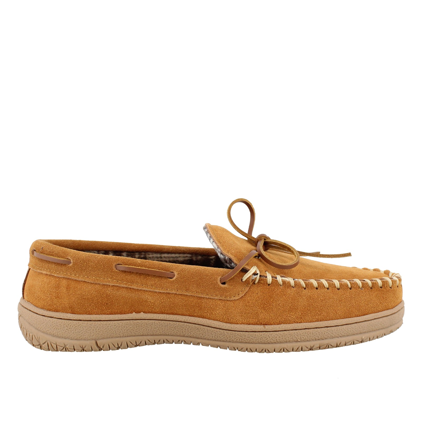 Men's Clarks, Moccasin Fleece-Lined Slipper