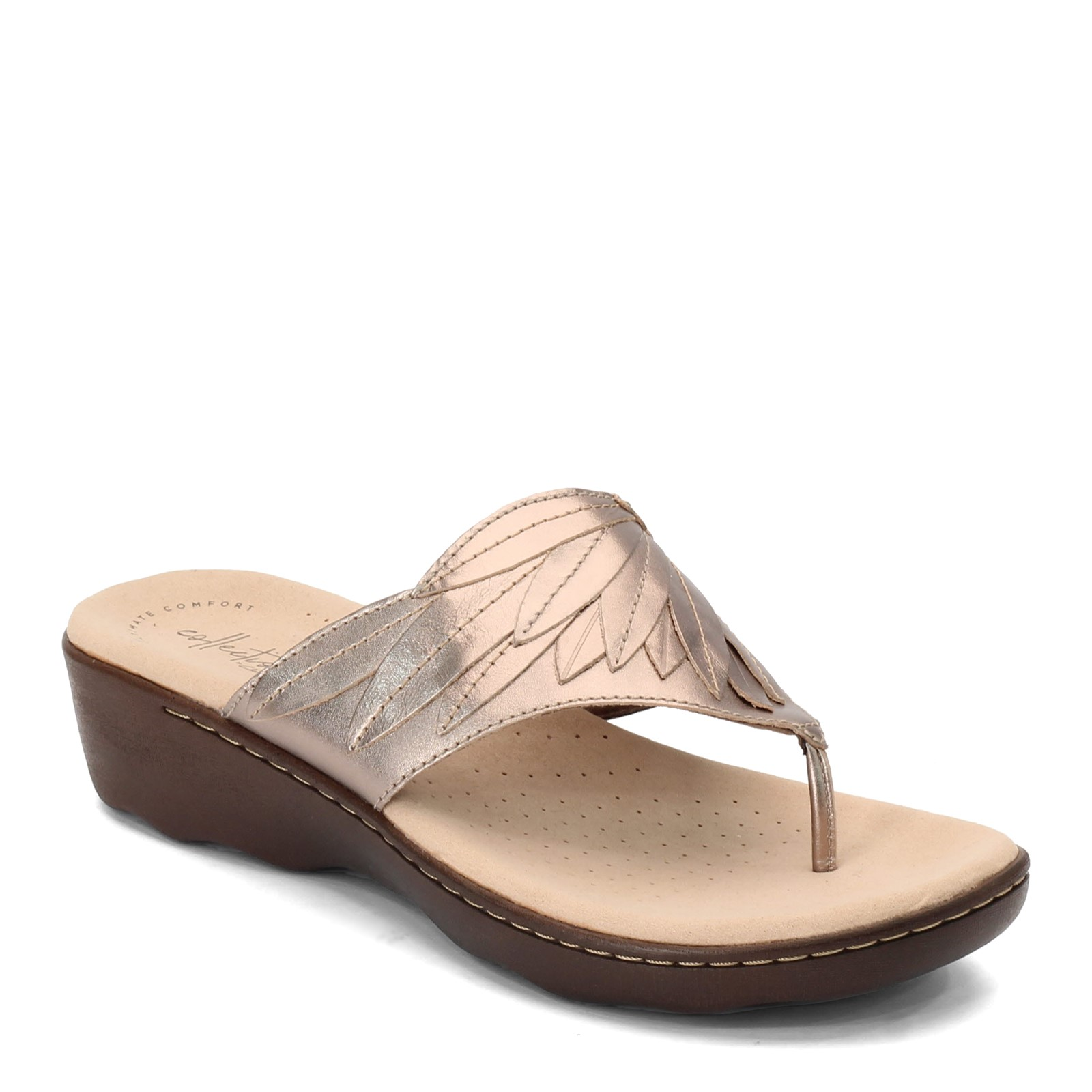 best place for outlet boutique quite nice Women's Clarks, Phebe Pearl Thong Sandals.