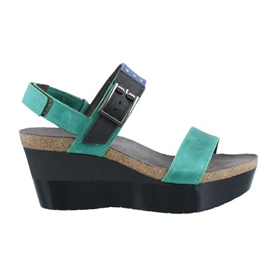 Women's Naot, Alpha High Heel Wedge Sandals