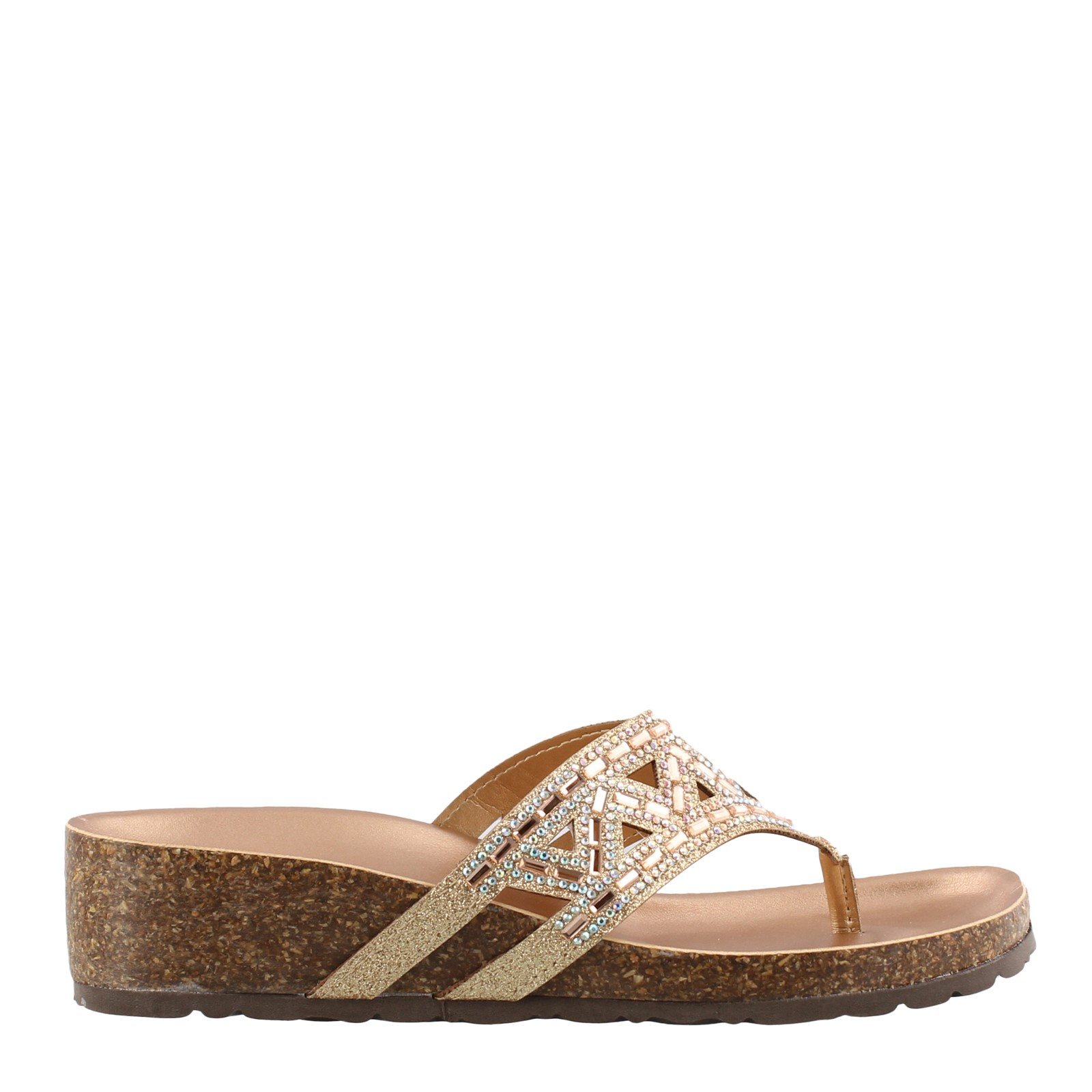 Women's Italian Shoemakers, Emilie Thong Sandals