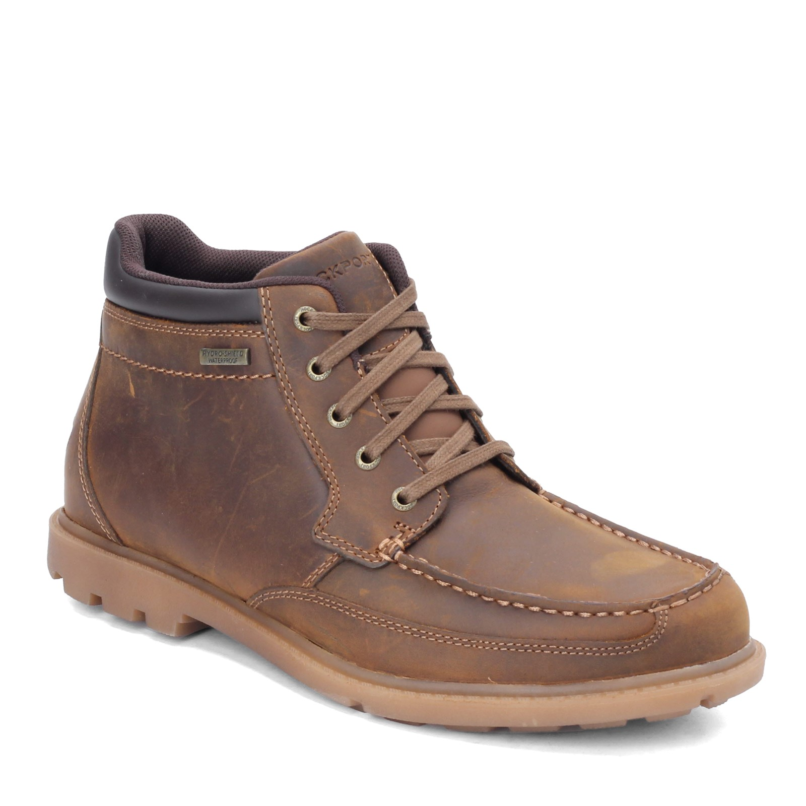 Men's Rockport, Patten Moc Boots