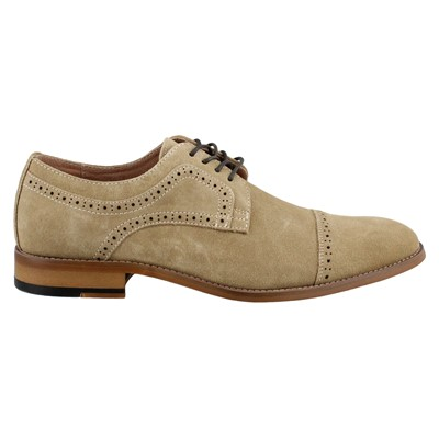 Men's Stacy Adams, Dobson Cap Toe Lace up Oxfords
