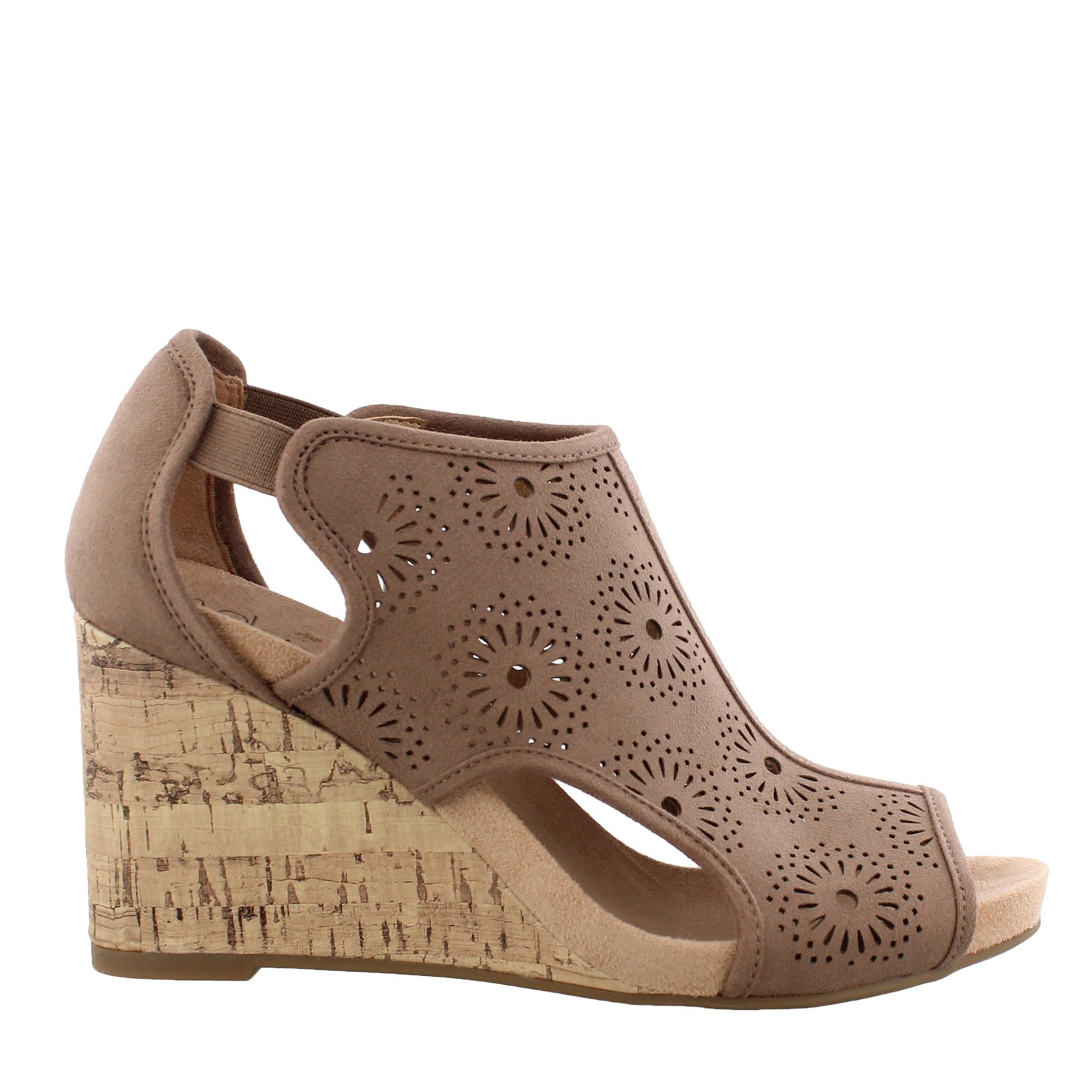 Women's Lifestride, Hinx High Heel Wedge Sandals