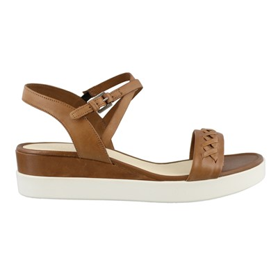 Women's Ecco, Touch Braided Mid Heel Sandals