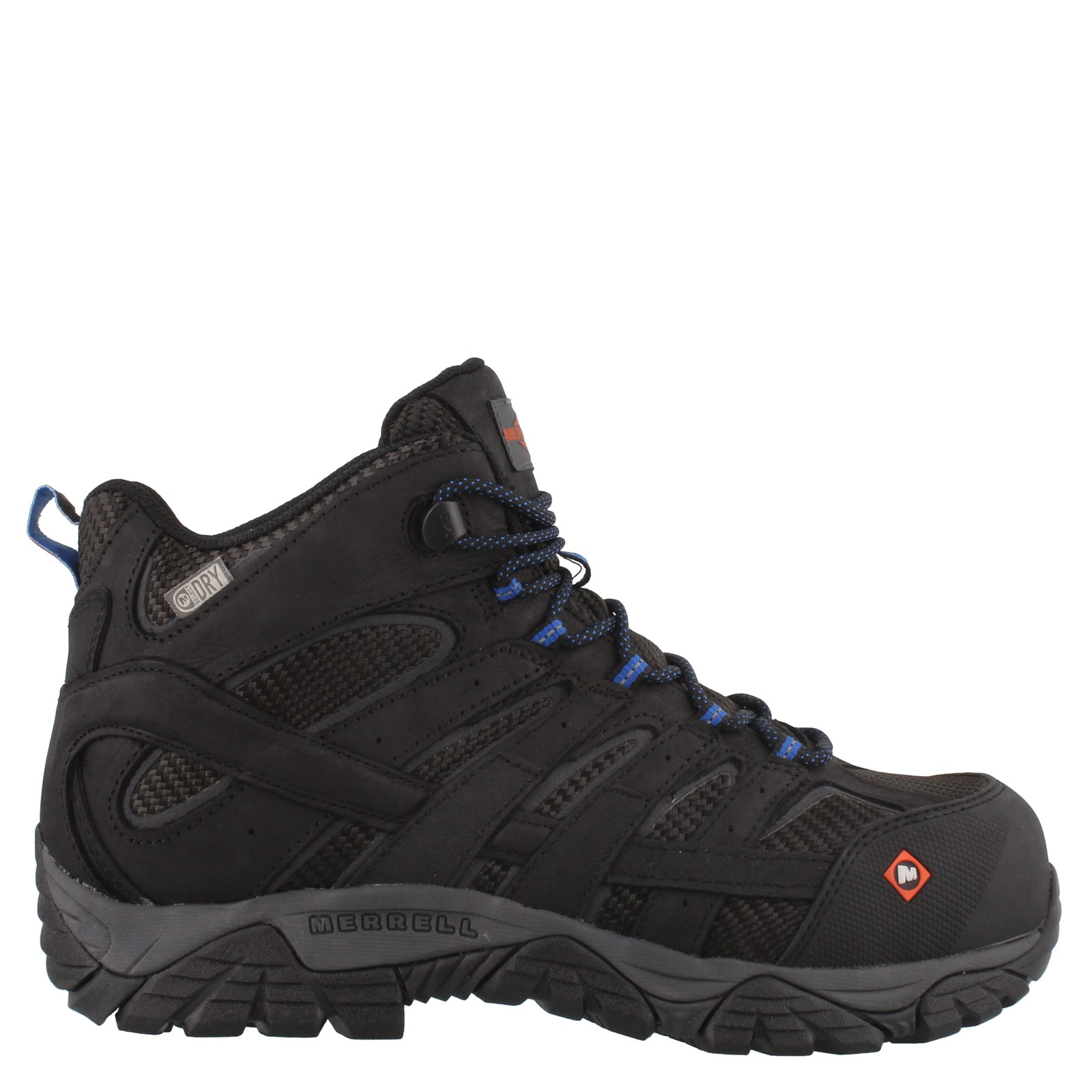 23281b00 Men's Merrell, Moab 2 Vent Mid Waterproof Composite Toe Work Boots