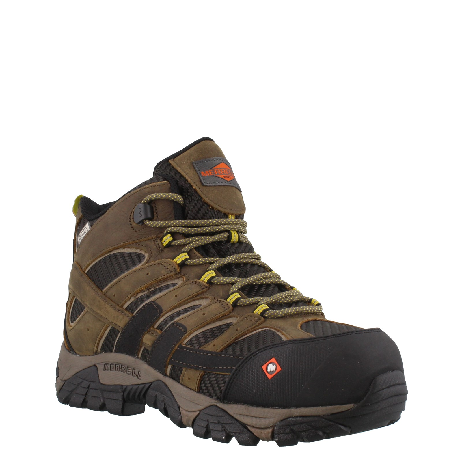 ea0b781fc4702e ... Moab 2 Vent Mid Waterproof Composite Toe Work Boot - Wide Width.  Previous. default view · 2 ...