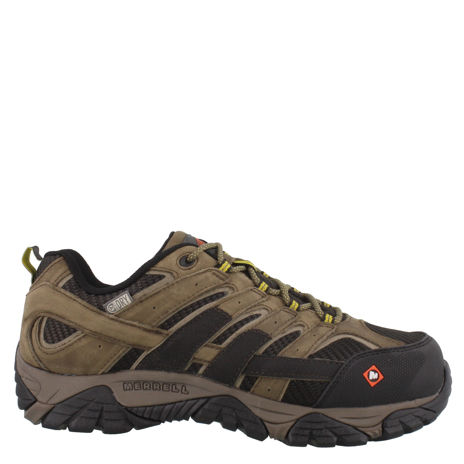 Men's Merrell, Moab 2 Vent Low Waterproof Composite Toe Work Shoes