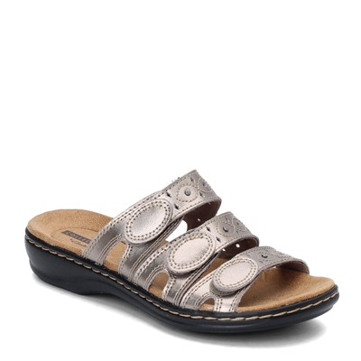 Women's Clarks, Leisa Cacti Slide Sandals