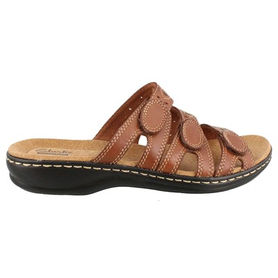 Women's Clarks, Lesia Cacti Slide Sandals