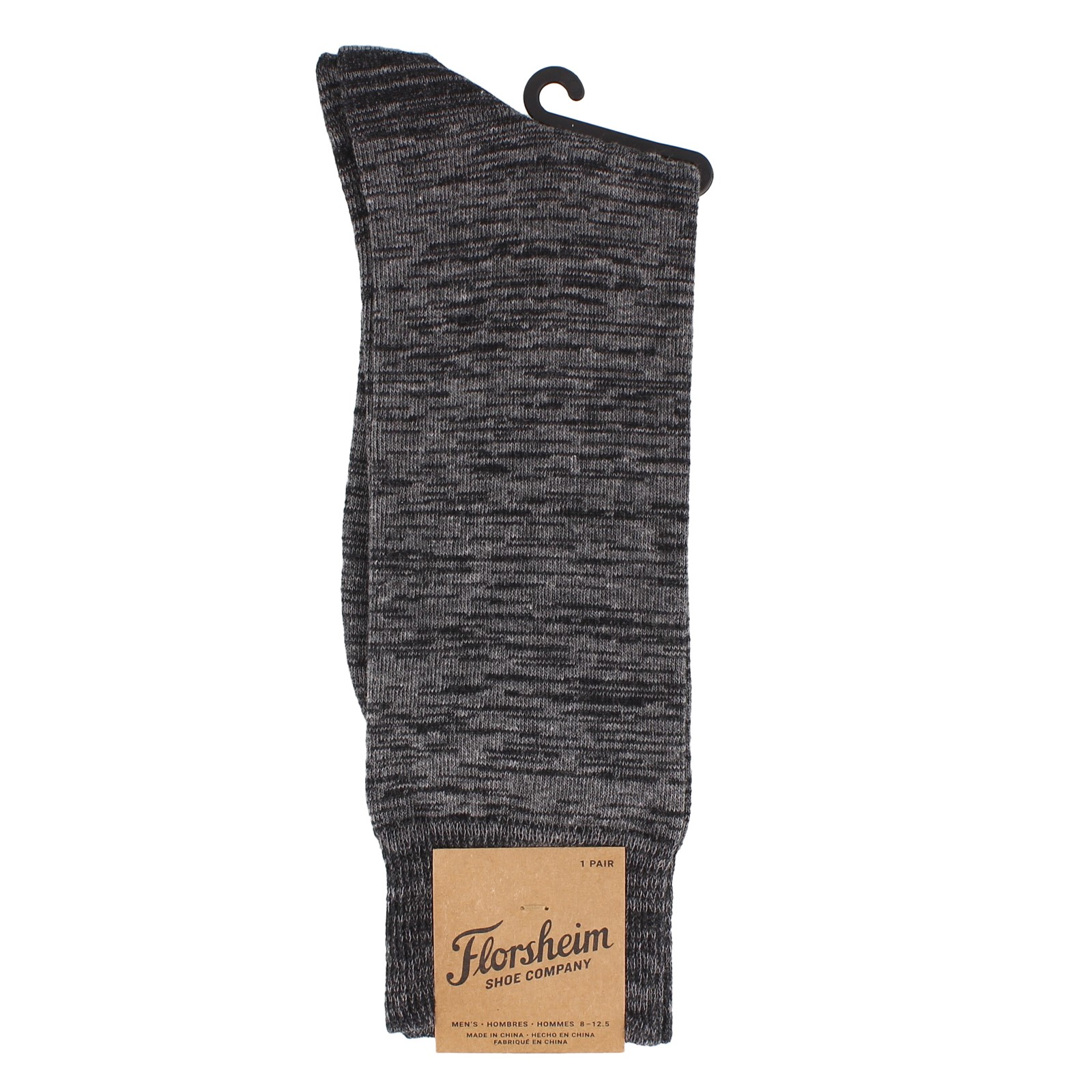 RANDEEM FEED DRESS SOCK-BLK