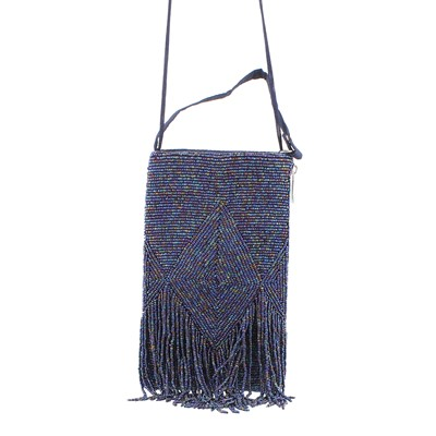 Bamboo Trading Company, Club Bag Midnight Fringe