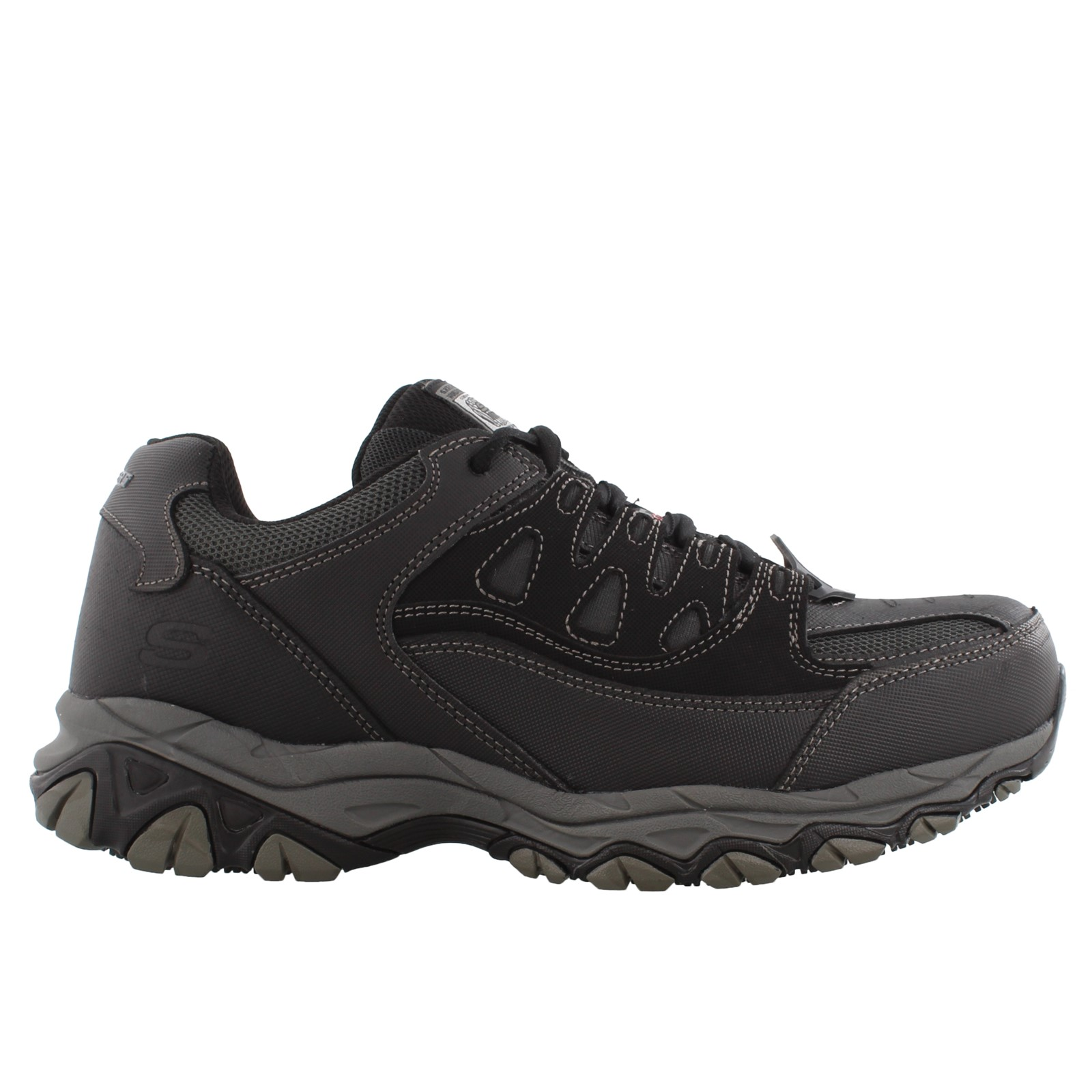 Men's Skechers, Holdredge Steel Toe Lace up Work Shoe