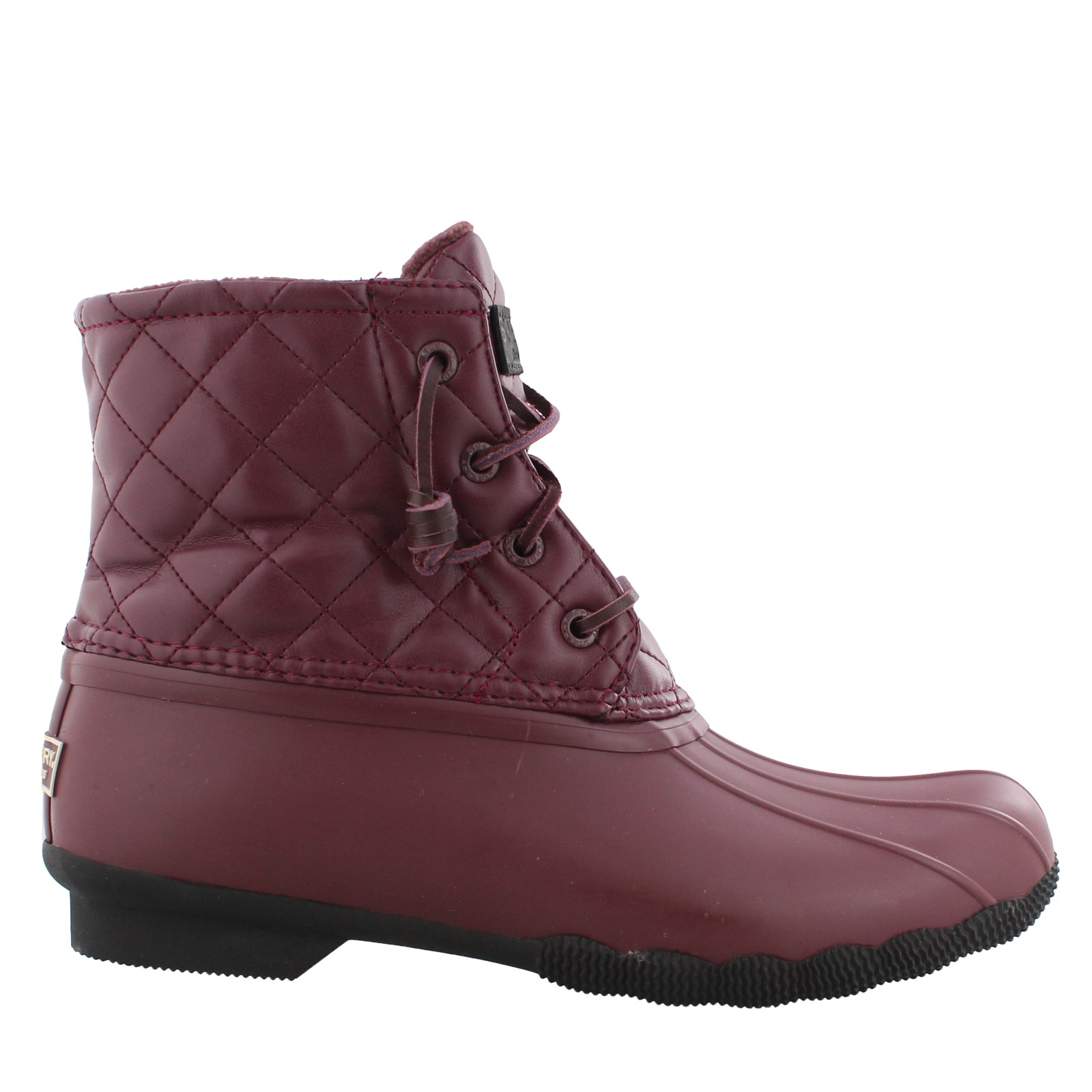 Women's Sperry, Saltwater Quilted Luxe Duck Boots