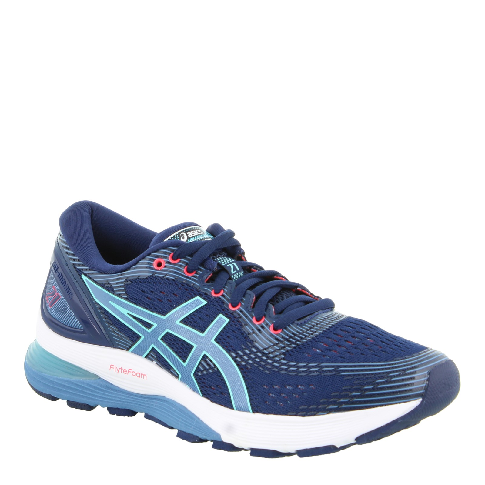Women's Asics, Gel Nimbus 21 Running Sneakers