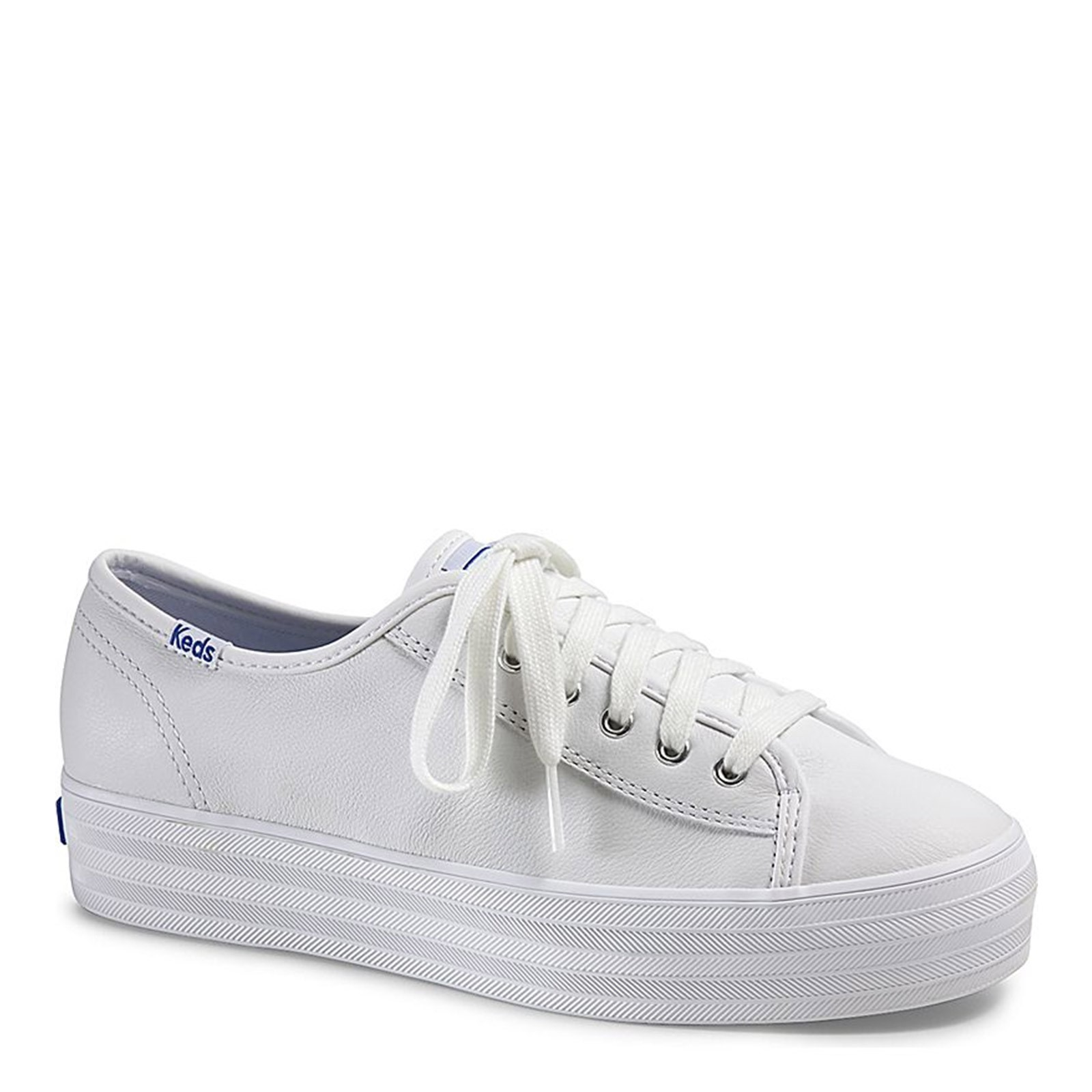 Women's Keds, Triple Kick Leather Sneakers