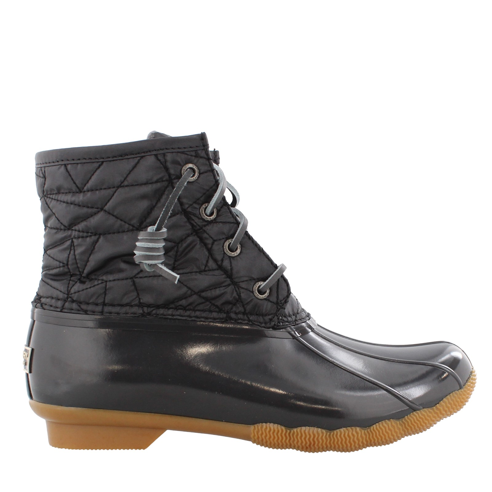 Women's Sperry, Saltwater Quilted Nylon Duck Boots