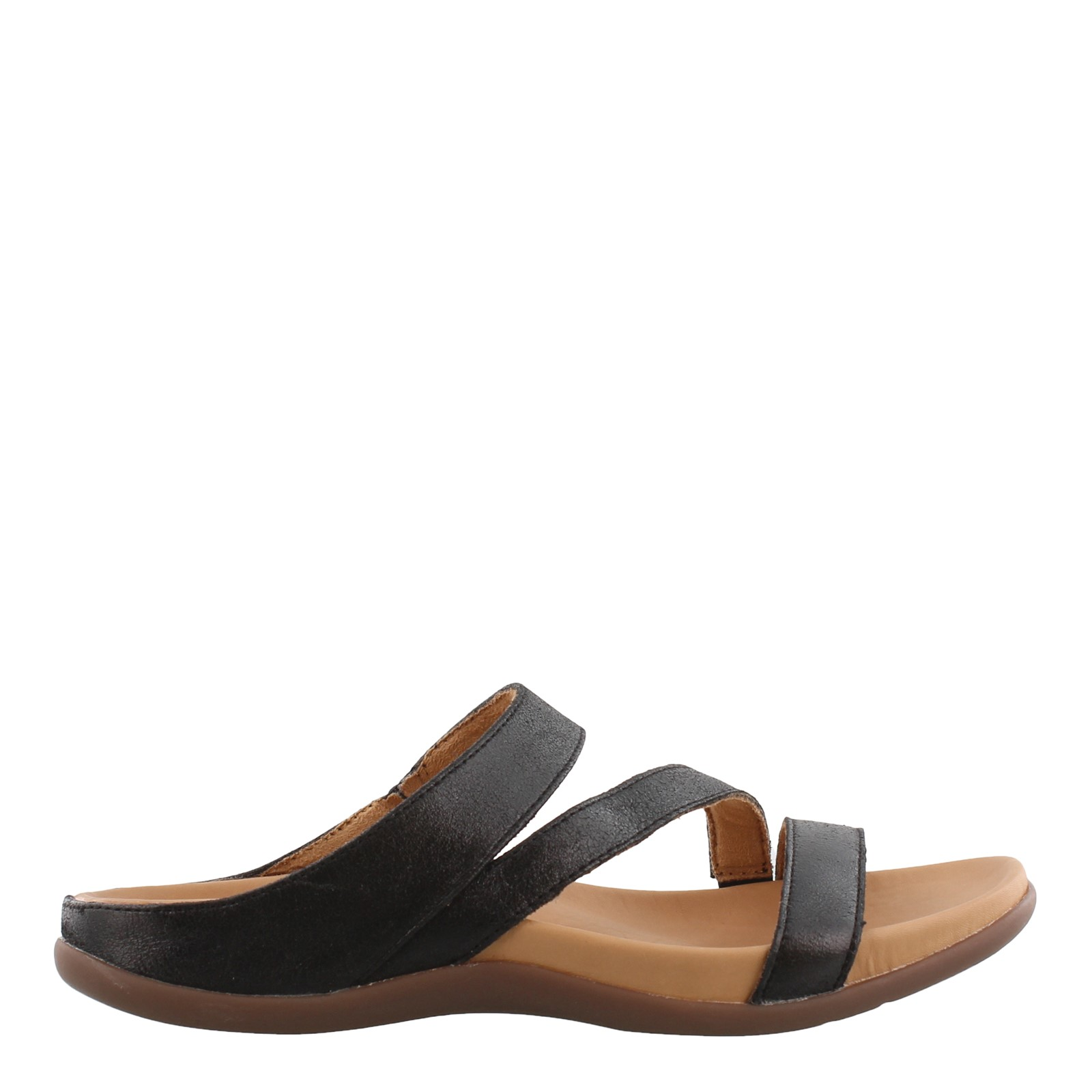 Strive Trio Womens Ladies Orthotic Footbed Leather Slide Sandals Size UK 4 8
