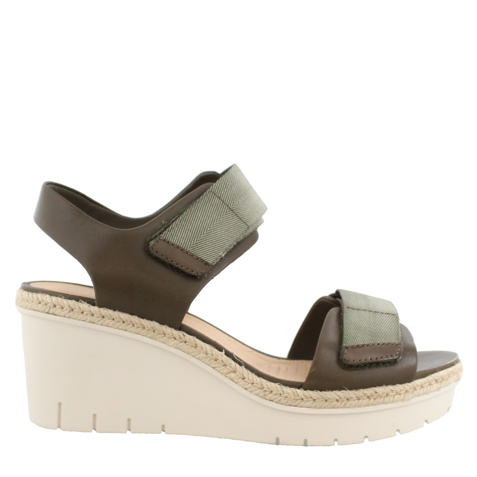 Women's Clarks, Palm Shine Wedge Sandals
