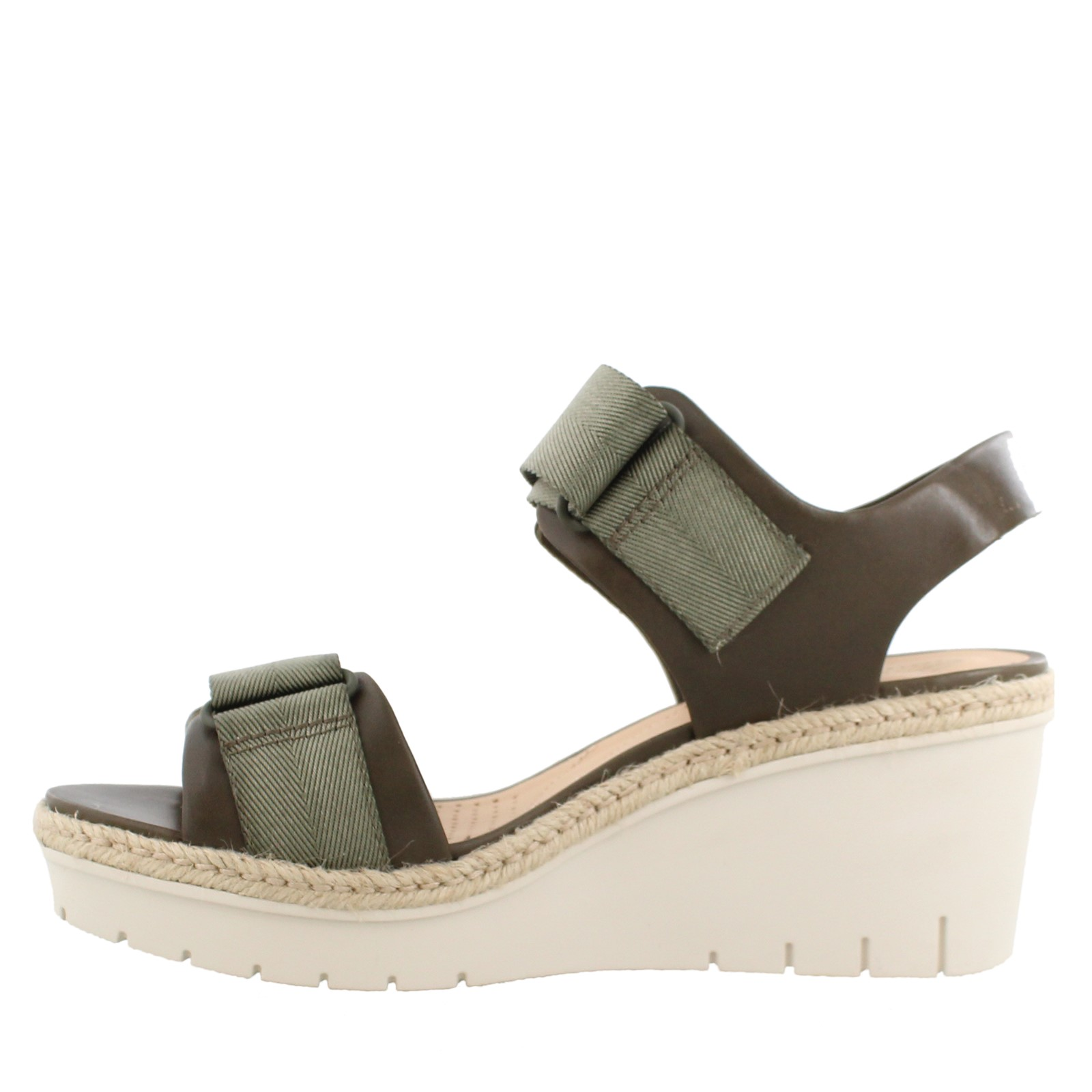52ebadcbcbe Women's Clarks, Palm Shine Wedge Sandals