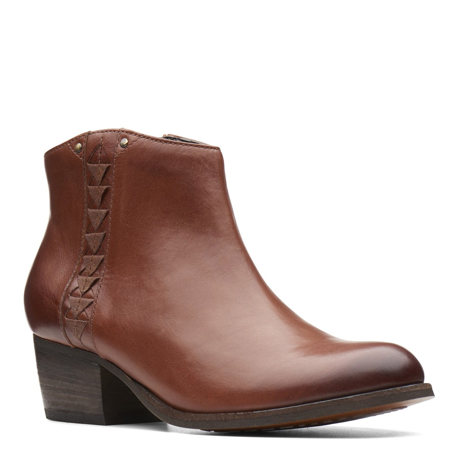 Women's Clarks, Maypearl Fawn Ankle Boots