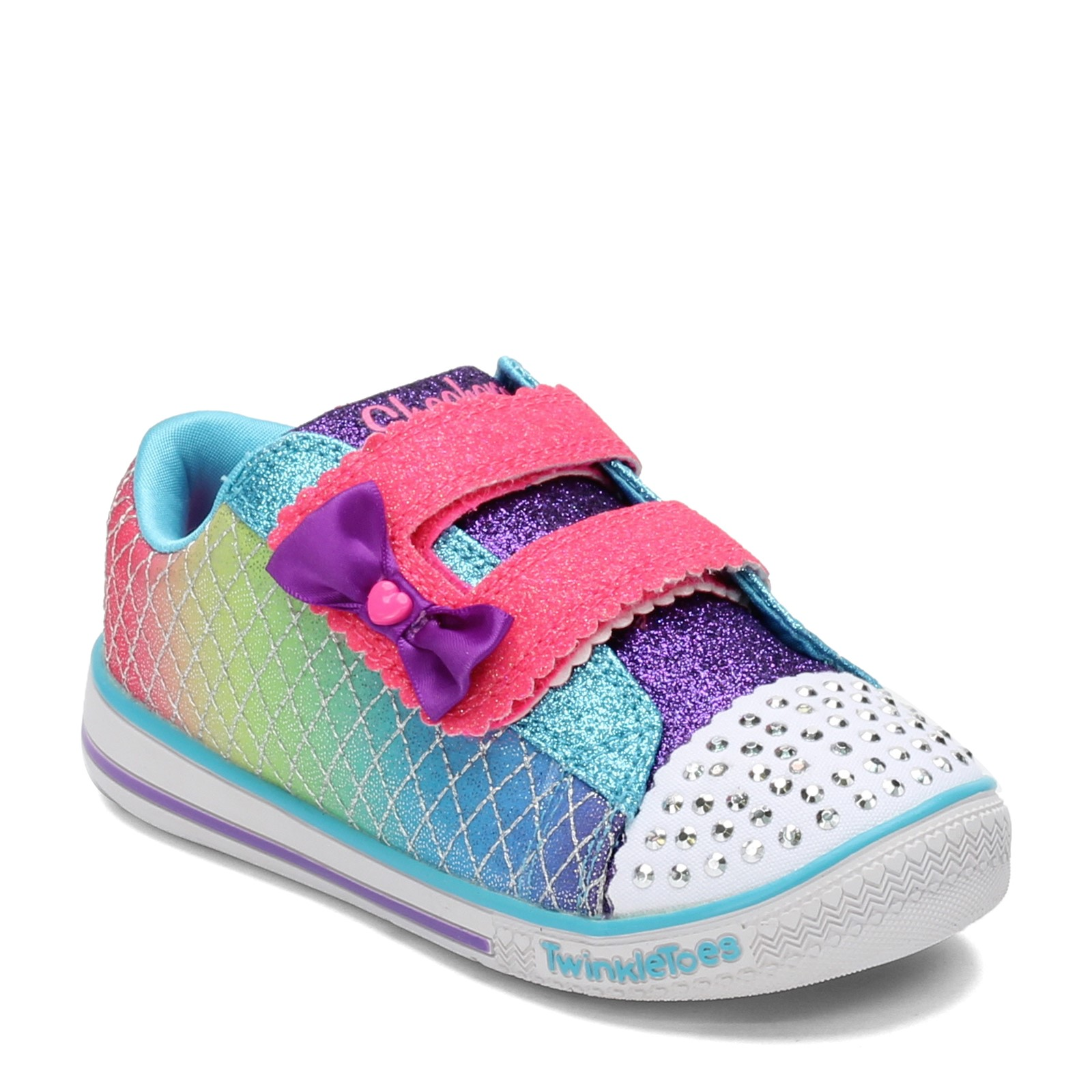 Girl's Skechers, Twinkle Toes: Twinkle Play Sparkle Play Toddler