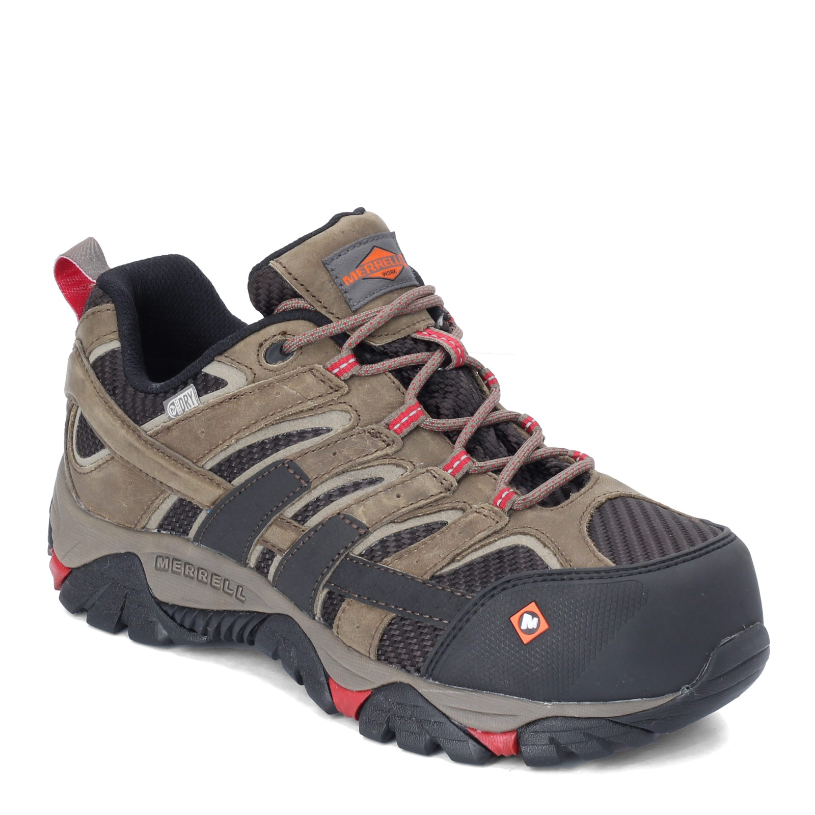 Men's Merrell, Moab 2 Vent Low Waterproof Composite Toe Work Shoe