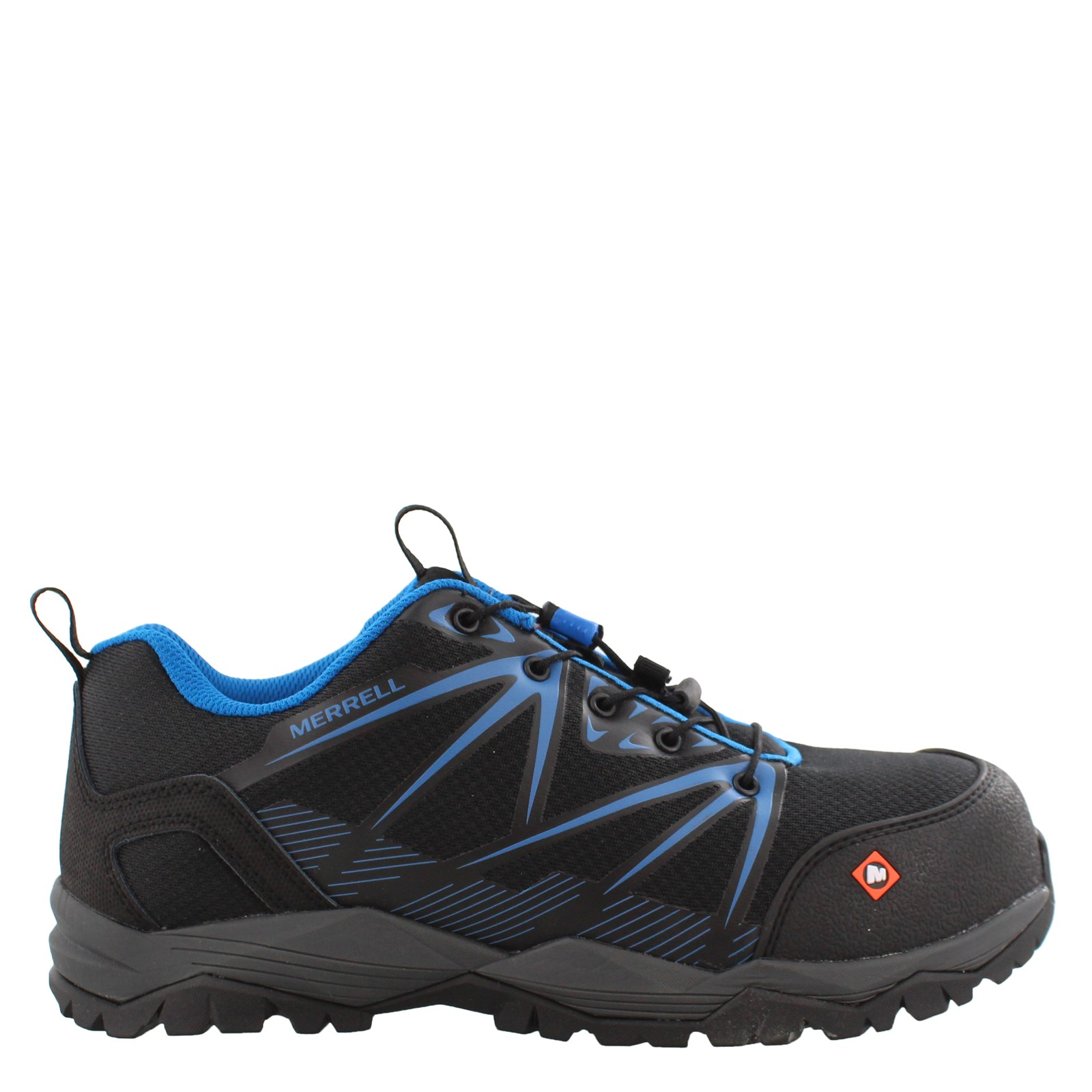 Men's Merrell, Fullbench Composite Toe Work Shoes