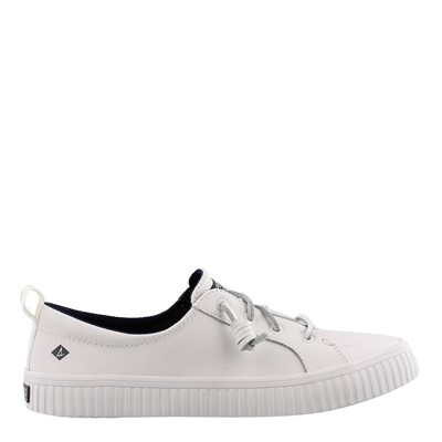 Women's Sperry, Crest Vibe Creeper Leather Sneaker