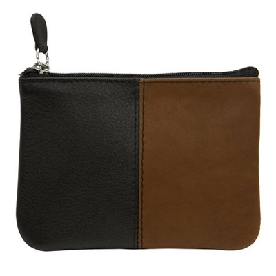 Women's Intercontinental Leather Ind, Coin Key Pouch