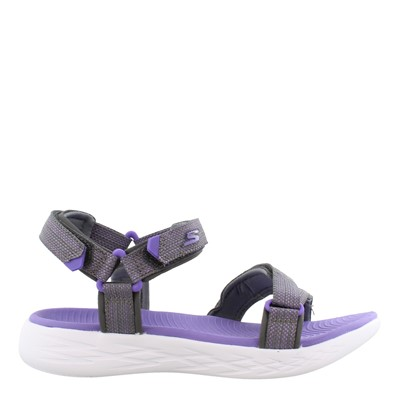 Girl's Skechers, On The Go 600 - Lil Radiance Sandal - Little Kid & Big Kid