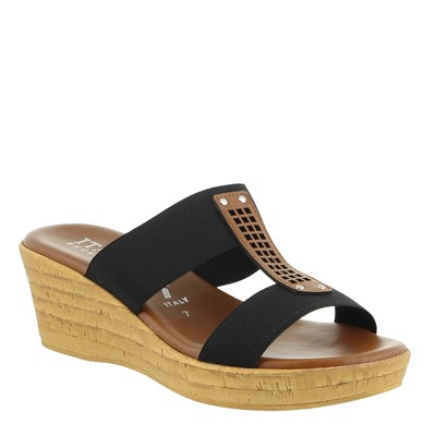 Women's Italian Shoemakers, Bello Wedge Sandal