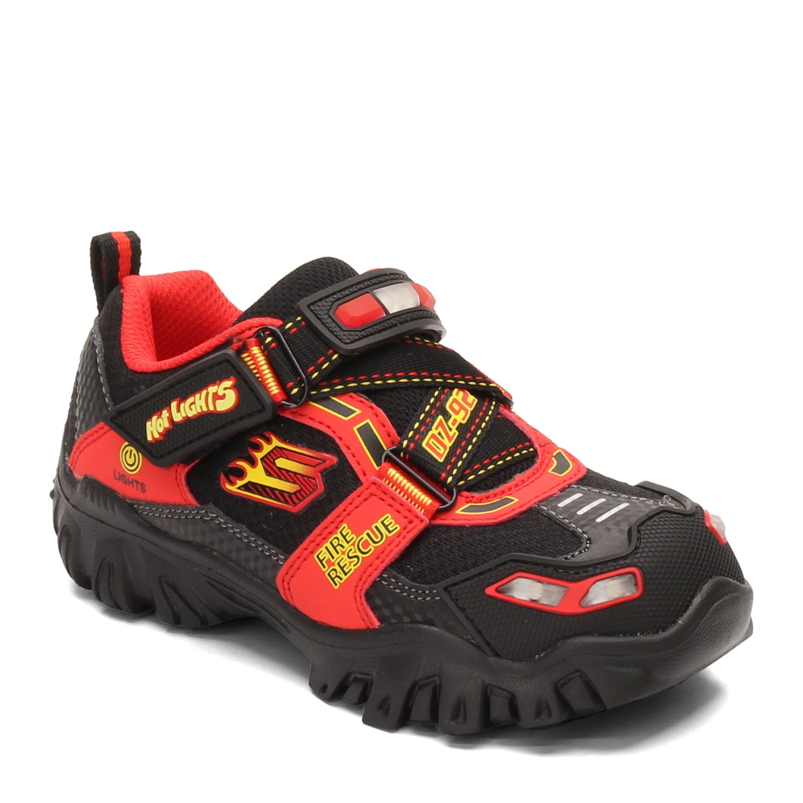 Boy's Skechers, Hot Lights: Damager III Fire Stopper Sneaker Little Kid