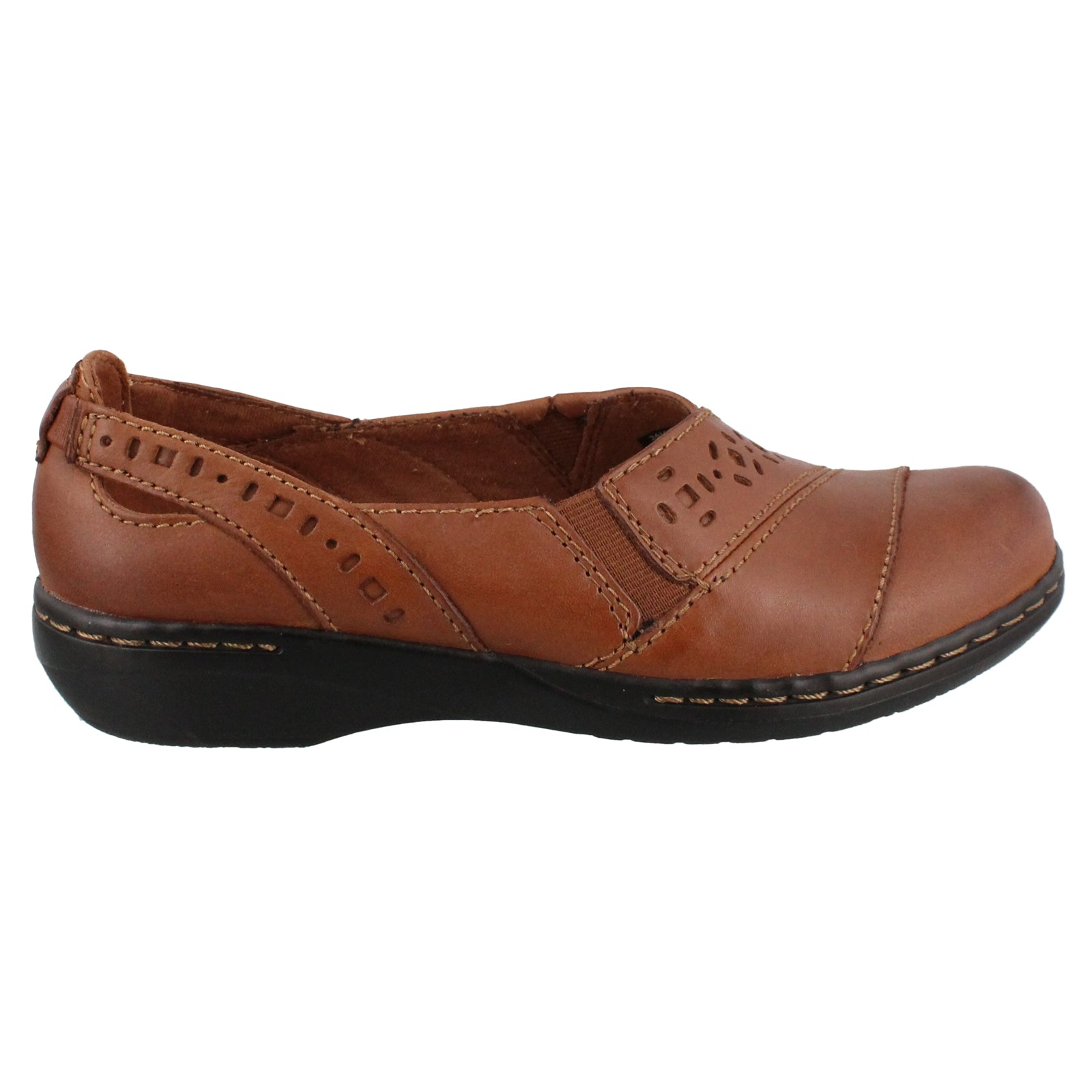 Women's Clarks, Evianna Fig4 Slip on Shoes These shoes let you transition from