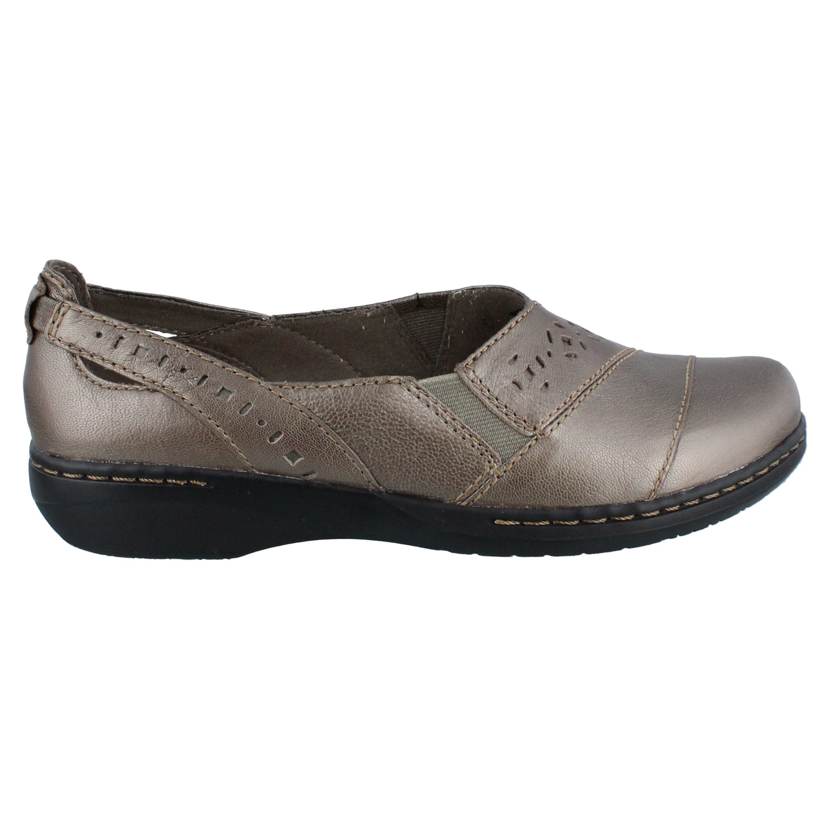 Women's Clarks, Evianna Fig4 Slip on Shoes