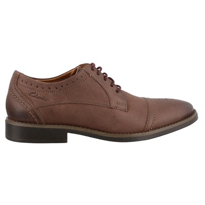Men's Clarks, Garren Cap Lace up Oxford