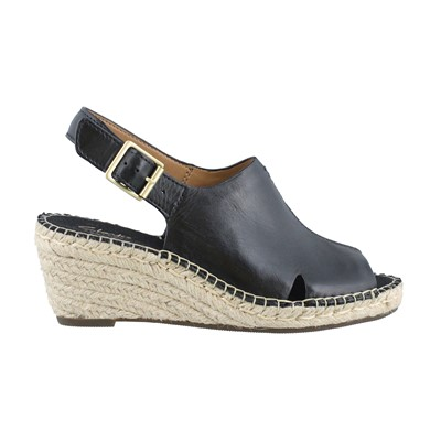 Women's Clarks, Petrina Mera Mid Heel Wedge Sandals
