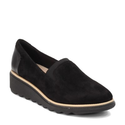 Women's Clarks, Sharon Dolly Wedge Loafer