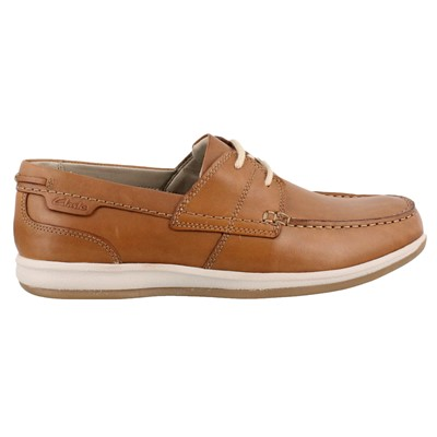 Men's Clarks, Fallston Style Lace up Boat Shoe
