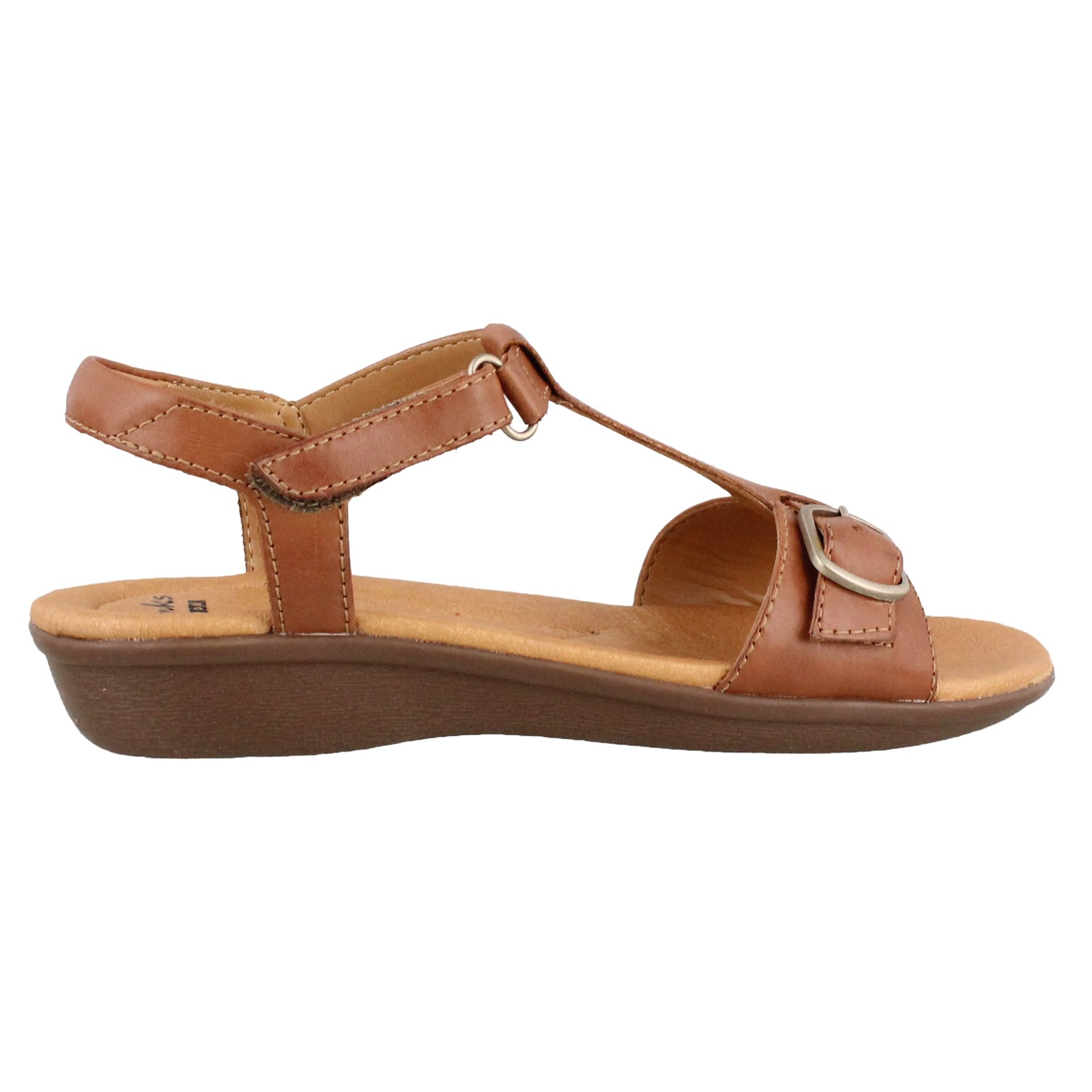 Women's Clarks, Manilla Lift Low Heel Sandal