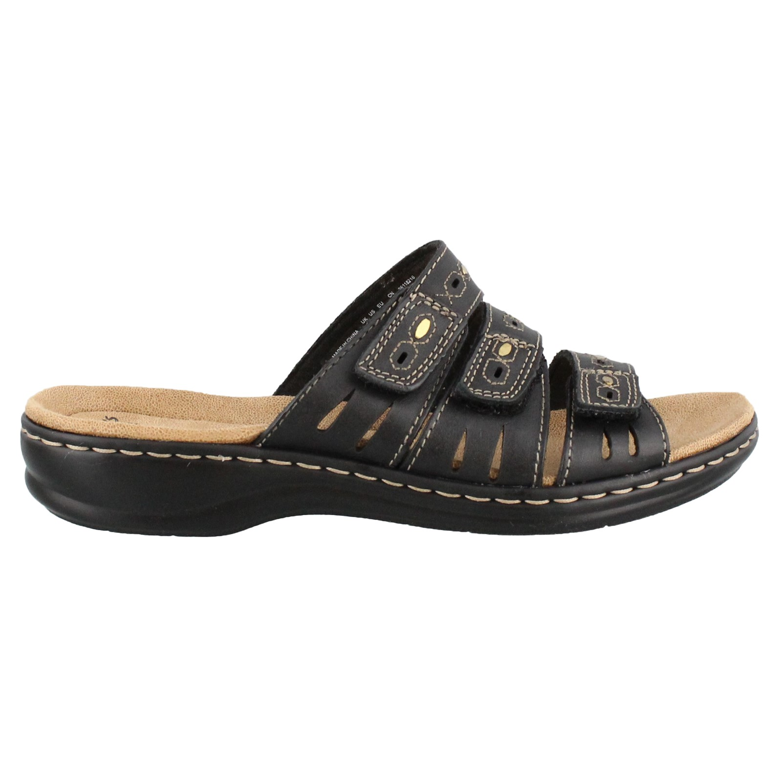 Women's Clarks, Leisa Broach Slide Sandal